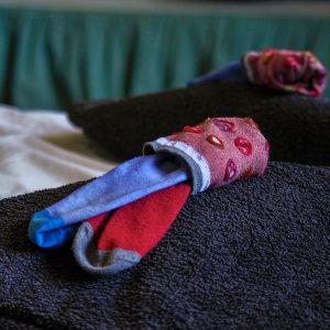 Nogavice v klobčiču